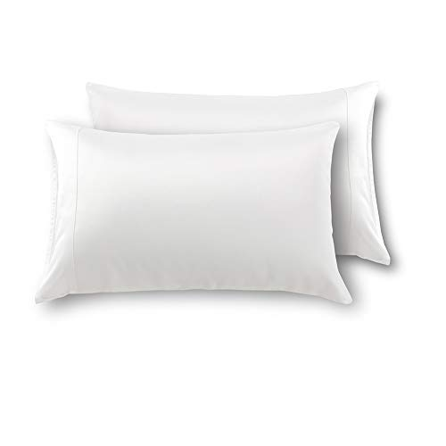 MEILA Silky Satin Pillowcase for Hair and Skin, Ultra-Soft Washed Silk Pillow Cases Standard Size Set of 2,...