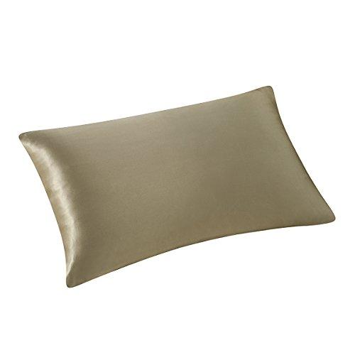 ALASKA BEAR Natural Silk Pillowcase, Hypoallergenic, 19 Momme, 600 Thread Count 100 Percent Mulberry Silk,...