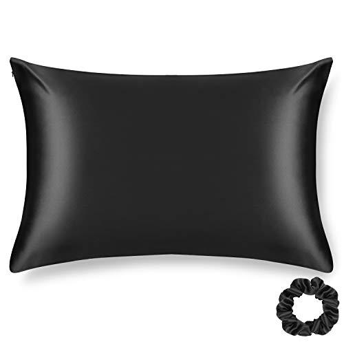 ALASKA BEAR Silk Pillowcase for Hair and Skin Beauty Sleep 100 Real Mulberry Silk Anti-Aging Pillow Slip Case...