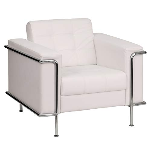 Flash Furniture Chaises Longues, Chair, Melrose White