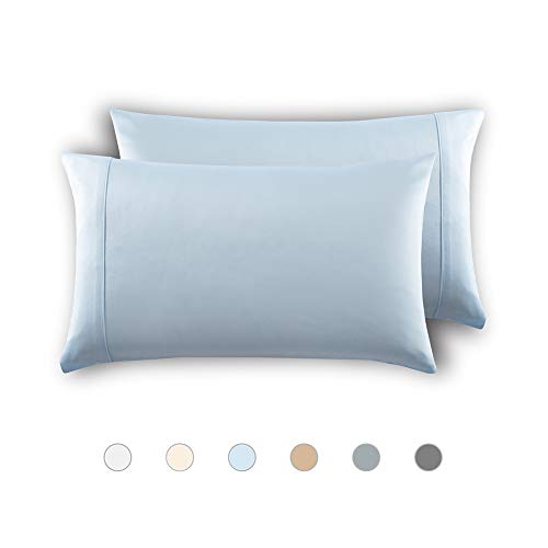 MEILA Silky Satin Pillowcase for Hair and Skin, Ultra-Soft Washed Silk Pillow Cases Queen Size Set of 2, Baby...