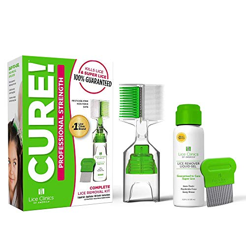 Lice Treatment Kit by Lice Clinics-Guaranteed to Cure Lice, Even Super Lice-Safe, Non-Toxic (Complete Head...