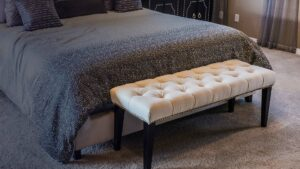 bedroom settee bench